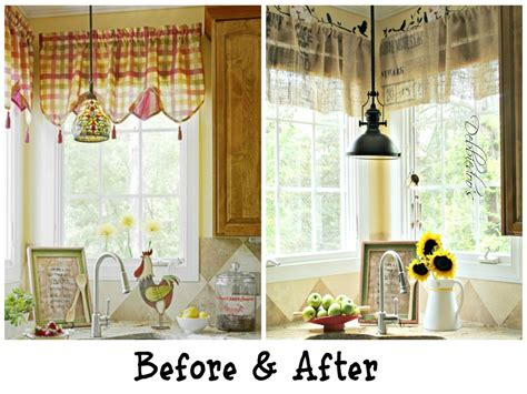 28 country kitchen curtain ideas country kitchen