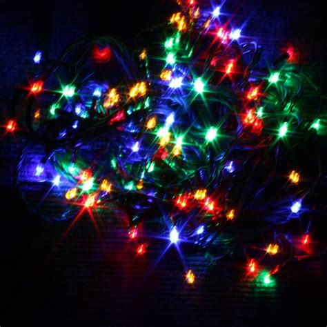 100 static led christmas x mas tree lights lanterns lamps
