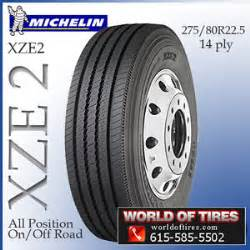 Michelin Truck Tires Xze2 22 5 Tire Michelin Xze 2 275 80r22 5 Semi Truck Tires 22 5