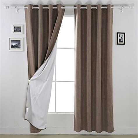 grommet top curtains for sliding glass doors with mk deconovo blackout curtain panels heavy thick