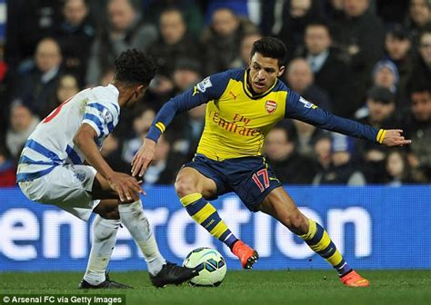 alexis sanchez qpr goal alexis sanchez is wasted on the wing he should be