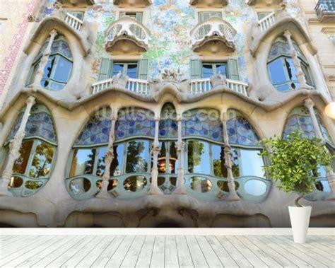 barcelona wallpaper mural gaudi s casa batllo barcelona wallpaper wall mural