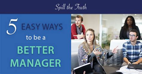10 Easy Ways To Be A Better Person by Truperception 5 Easy Ways To Be A Better Manager