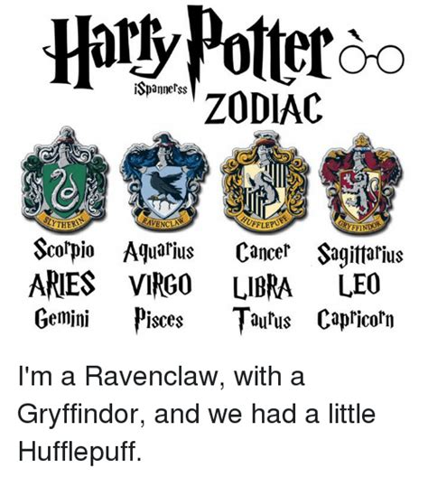 Aquarius Meme - harly potter so ispannerss zodiac sirtheri ravencins