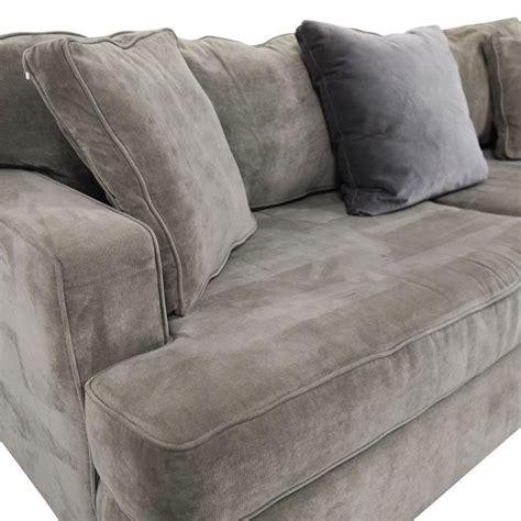 abc carpet sofa 65 off abc carpet home abc carpet home velvet grey