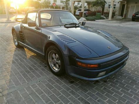 old porsche 911 wide body porsche 911 1988 wide body m491 slantnose for sale