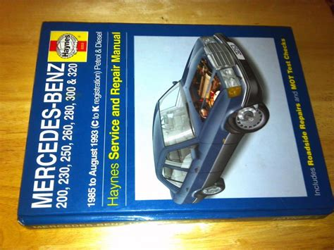 mercedes 124 shop manual service repair book haynes 300e 300te 260e 300d w124 mb ebay haynes service repair manual w124 85 93 peachparts mercedes shopforum