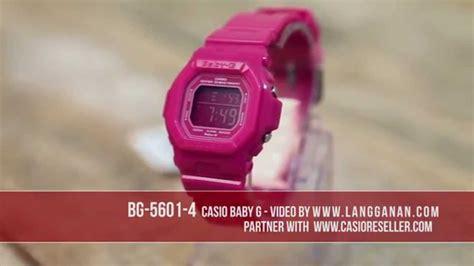 Casio Baby G Bg 5601 4 Original Garansi Resmi 1 Tahun casio baby g bg 5601 4