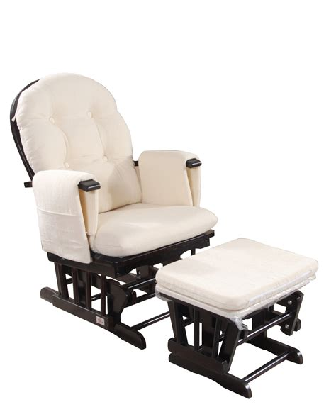 Baby Chair And Ottoman Brand New Baby Glider Chair Rocking Chair Breast Feeding Chair W Ottoman Ebay