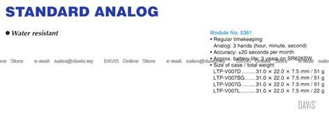 Casio Standard Ltp V007l 7e1 Original Garansi Resmi 1 Tahun casio ltp v007d ltp v007g ltp v007l end 12 9 2019 4 20 pm