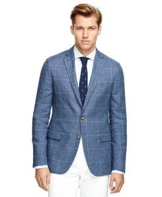 light blue windowpane sport coat s blue windowpane linen sport coat ralph with