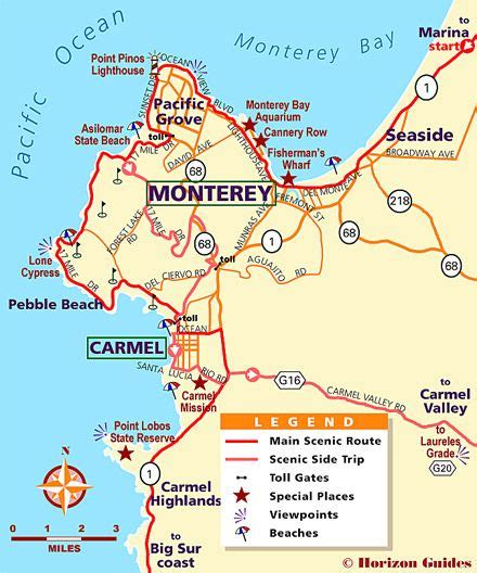 map monterey ca explore monterey 1 vacation travel guide hotels maps