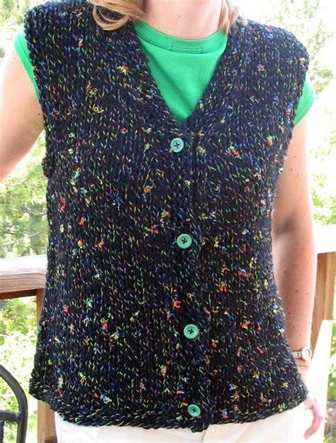 free vest knitting patterns easy 25 best ideas about knit vest pattern on knit