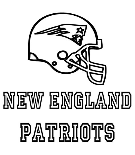 patriots colors football 11 free printable new patriots coloring pages