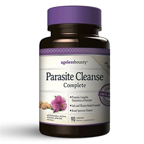 Parasite Detox Information by Parasite Cleanse Complete For Humans New Broad