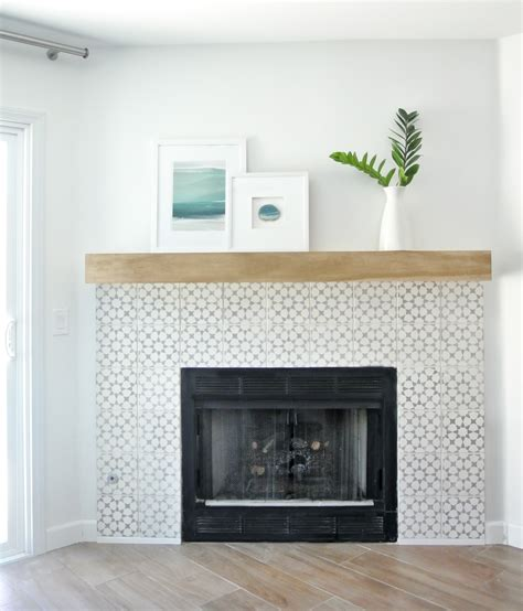 A In A Fireplace by Diy Fireplace Makeover Centsational Style