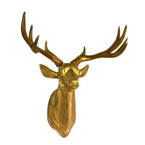 deer head gold villa beau interiors vancouver furniture