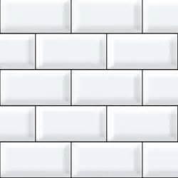 white tiles black grout effect kitchen splashback panel enhance your rooms