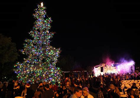 when is the christmas tree lighting in san francisco christmas at the mission mission san juan capistrano