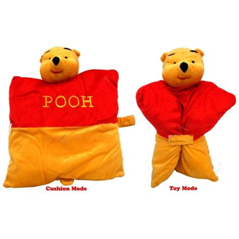 Pooh Pillow Pet by Disney Winnie The Pooh 2 In 1 Cushion Shaped Free P P Ebay