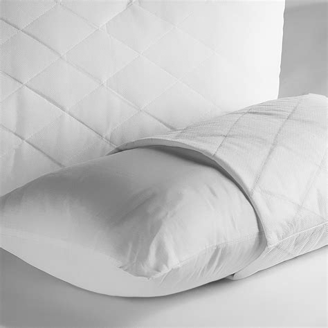 bed pillow protectors polypropylene quilted pillow protectors richard haworth