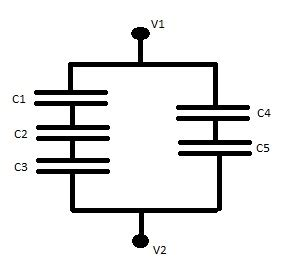 capacitor parallel add capacitors add in the opposite way that resistors chegg