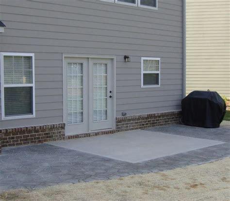 extending concrete patio  slab paversjpg