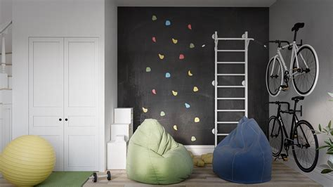kids rooms climbing walls and contemporary schemes home designing modern scandinavian style home design for