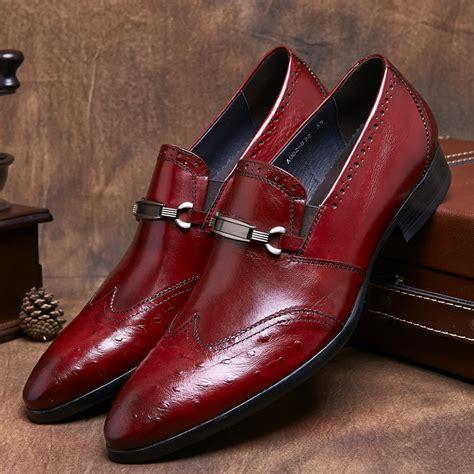 aliexpress buy black brown mens loafer dress