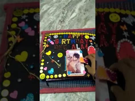 Handmade Slam Book - handmade birthday slam book