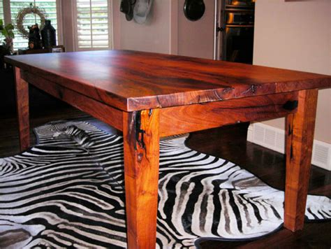 Mesquite Dining Room Table Mesquite Dinning Room Table Traditional Dining Tables By Wr Woodworking