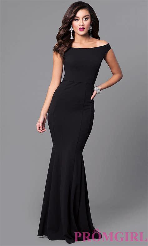 Set 3in1 Longdress Black cheap black mermaid shoulder prom dress promgirl
