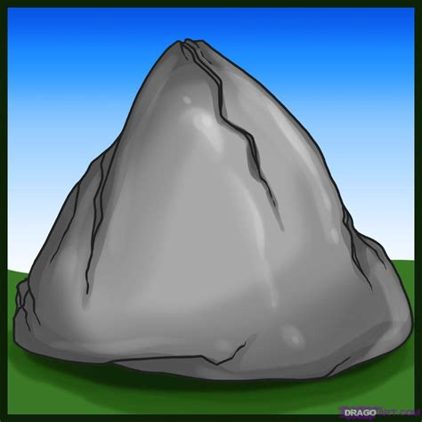 doodle drawer how to draw rocks step by step other landmarks places