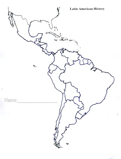 blank map of south america worksheets a blank map of central and south america chicochino worksheets and printables
