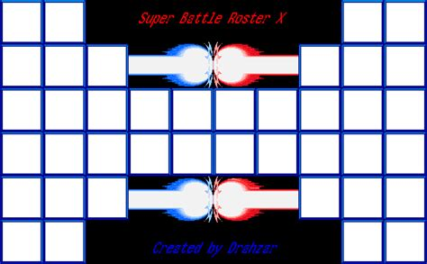 battle template battle roster x template by lorddrahzar on deviantart