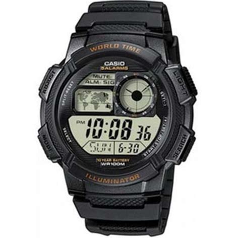 casio gents digital ae 1000w 1avef 163 19 00 from