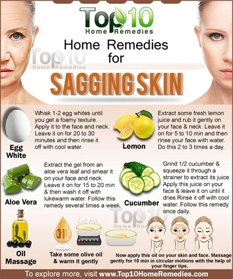 home remedies for sagging skin top 10 home remedies