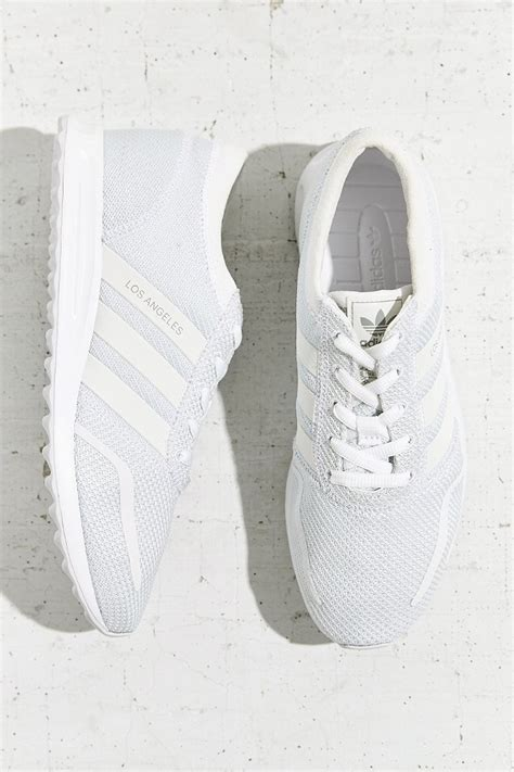 adidas originals originals los angeles reflective stripe running sneaker in gray lyst