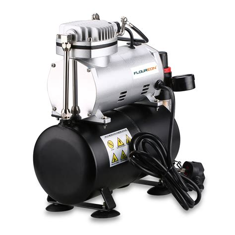 spray paint compressor floureon 1 6hp airbrush compressor air brush tank spray