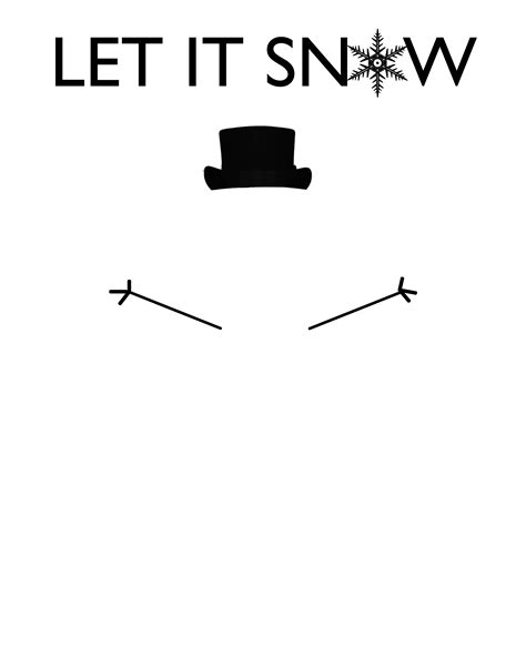 printable olaf arms 6 best images of printable snowman arms olaf arm
