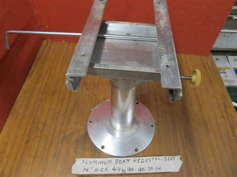 boat seat mount base aluminum sliding pedestal boat seat mount mounting base