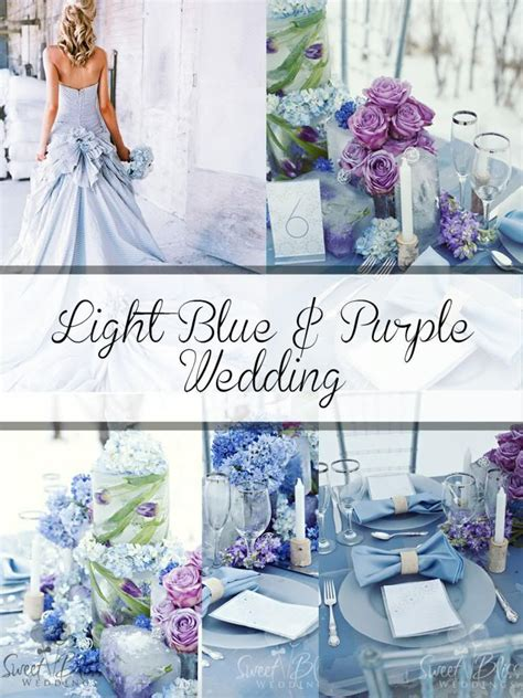 gorgeous sigh purple and blue and silver wedding palette light blue lavender wedding