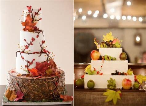 Wedding Cake Autumn by Autumn Cakes For The Fall Season Cake Magazine
