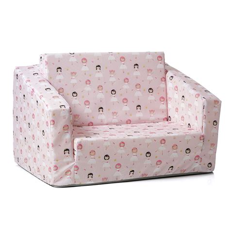 kids couch fold out adairs kids flip out sofa bed ballerina home gifts