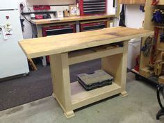 knock down shooting bench plans workshop workbench on pinterest workbenches work benches and workbench plans