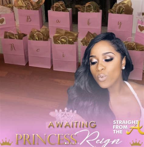 Who Attends Baby Showers by Toya Wright Shares New Baby Bump Glam Baby