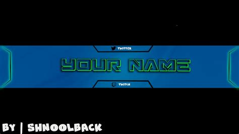 14 Youtube Banner Psd Customizable Images Youtube Banner Template Free Custom Youtube Banners Customizable Banner Template