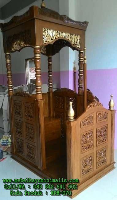 Depan Jati Minimalis Ukiran Jepara harga mimbar jepara ukiran kayu jati mebel kayu minimalis