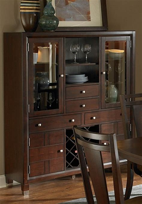 broyhill furniture northern lights dining chest 531260 broyhill northern lights dining chest in dark walnut