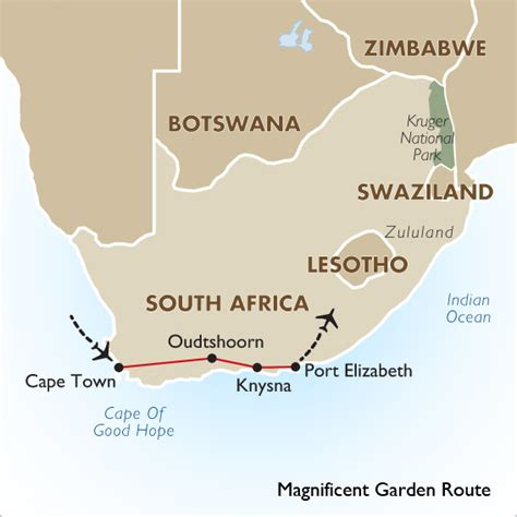 garden route itinerary ideas magnificent garden route goway travel